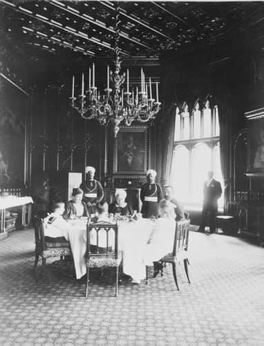 La reine Victoria au château de Windsor