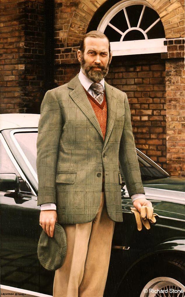 Le prince Michael de Kent - 1990