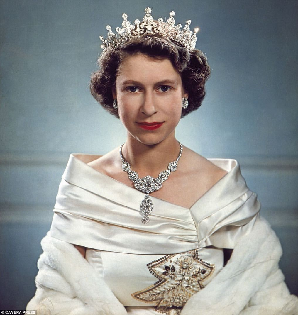 Elizabeth II par Yusuf Karsh