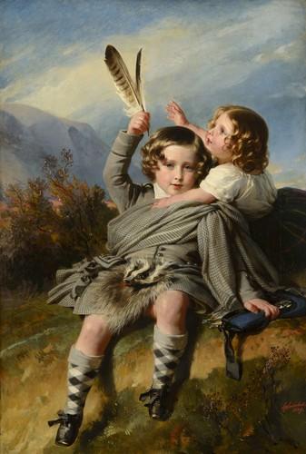Prince Alfred et princesse Hélène - 1848