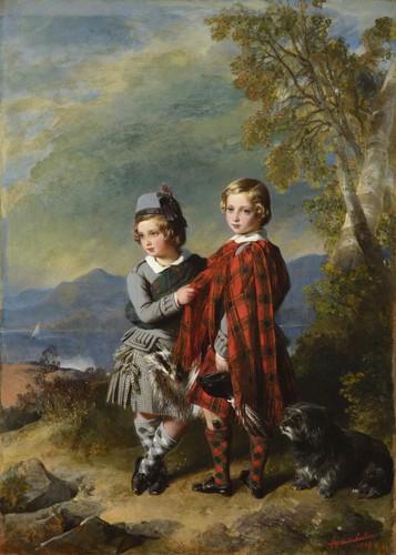 Prince Edward et prince Alfred - 1849