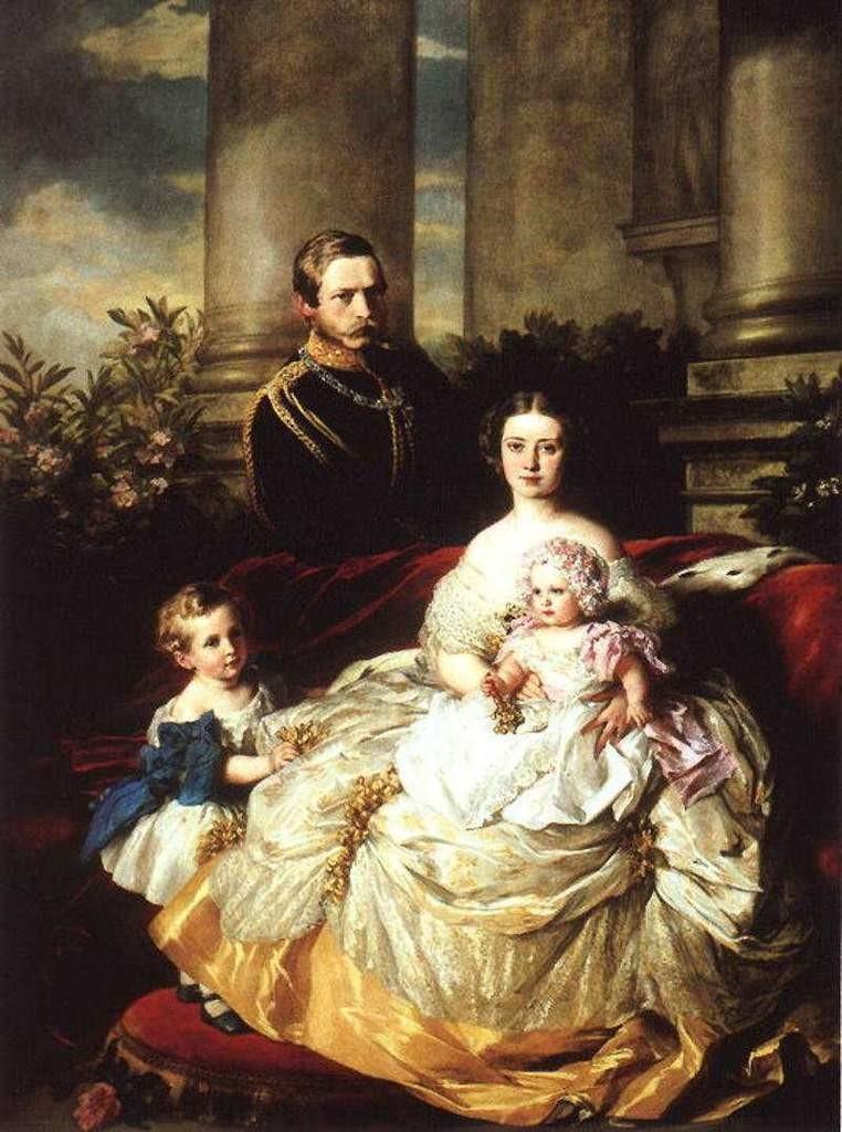 Frederic de Prusse et princesse Victoria - 1862
