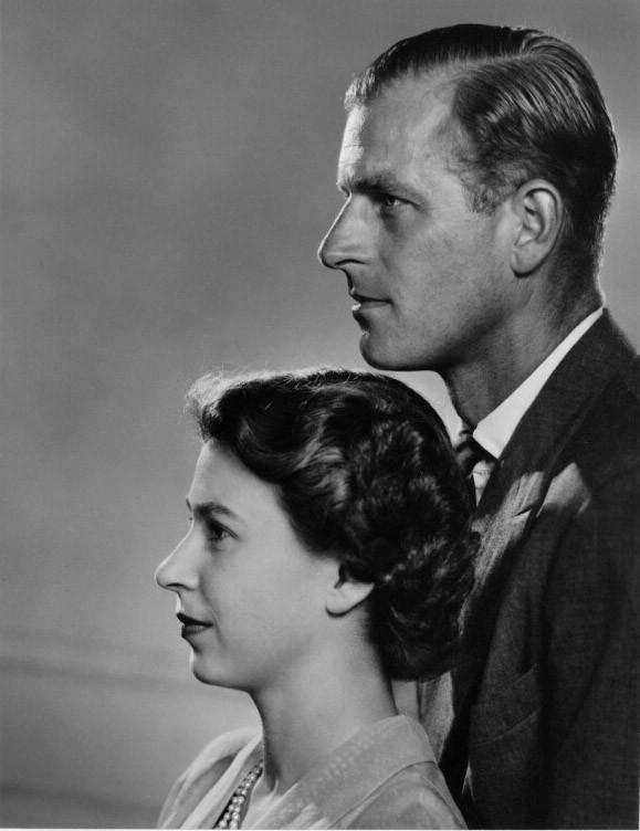 Princesse Elizabeth, prince Philip - 1951