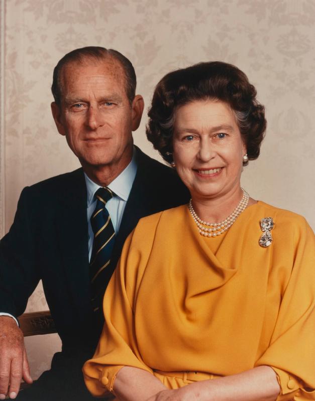 Elizabeth II, prince Philip - 1984