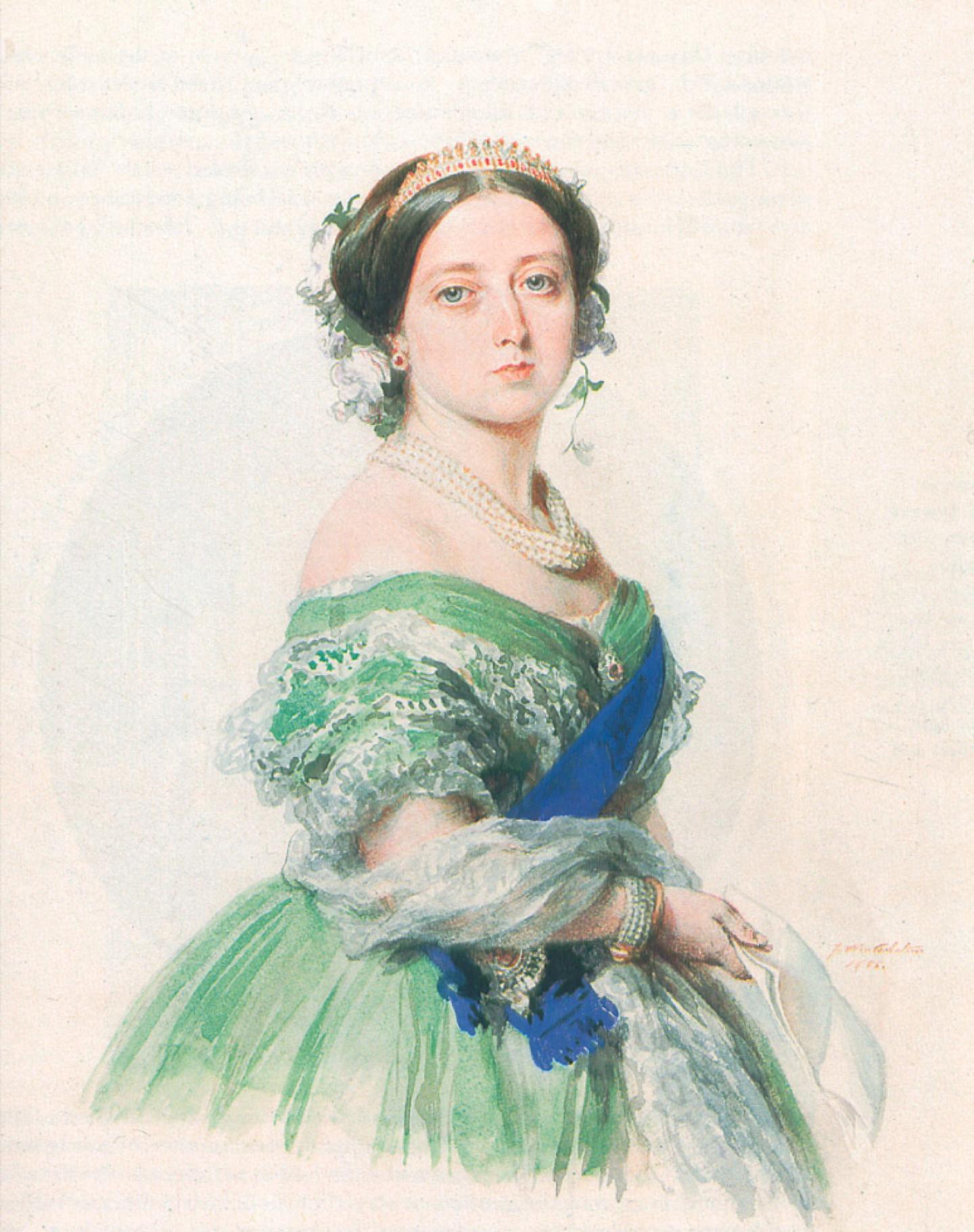 Reine Victoria - 1855