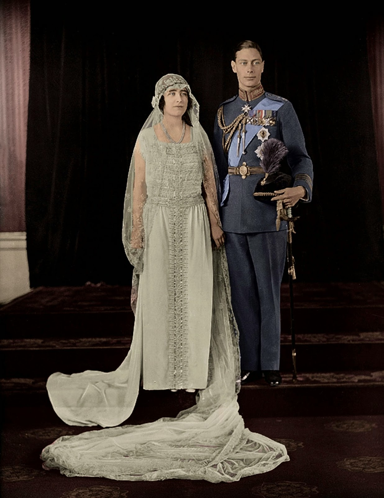 1923 george vi elizabeth wedding