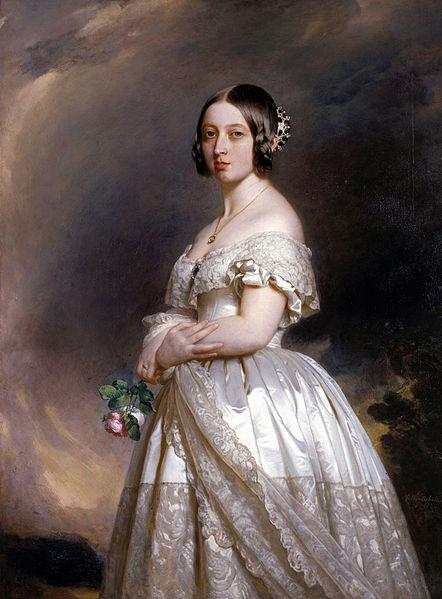 442px the young queen victoria