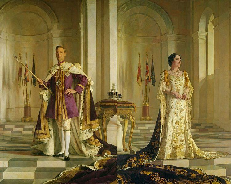 750px king george vi and queen elizabeth