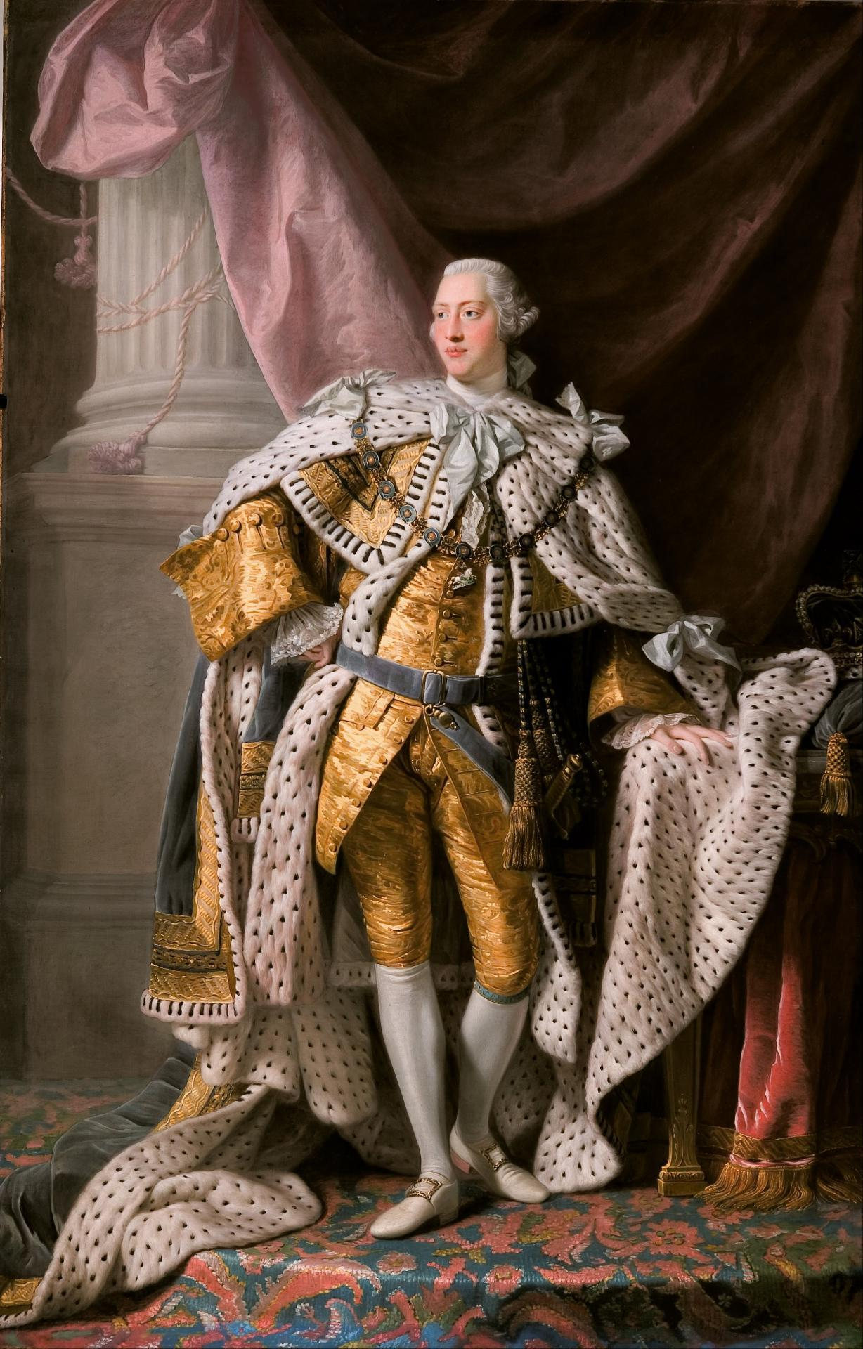 Allan ramsay king george iii in coronation robes google art project 1
