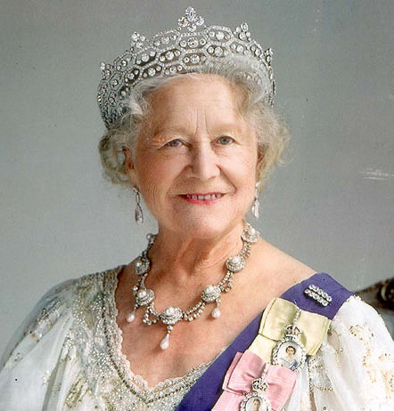 Boucheron tiara queen mother