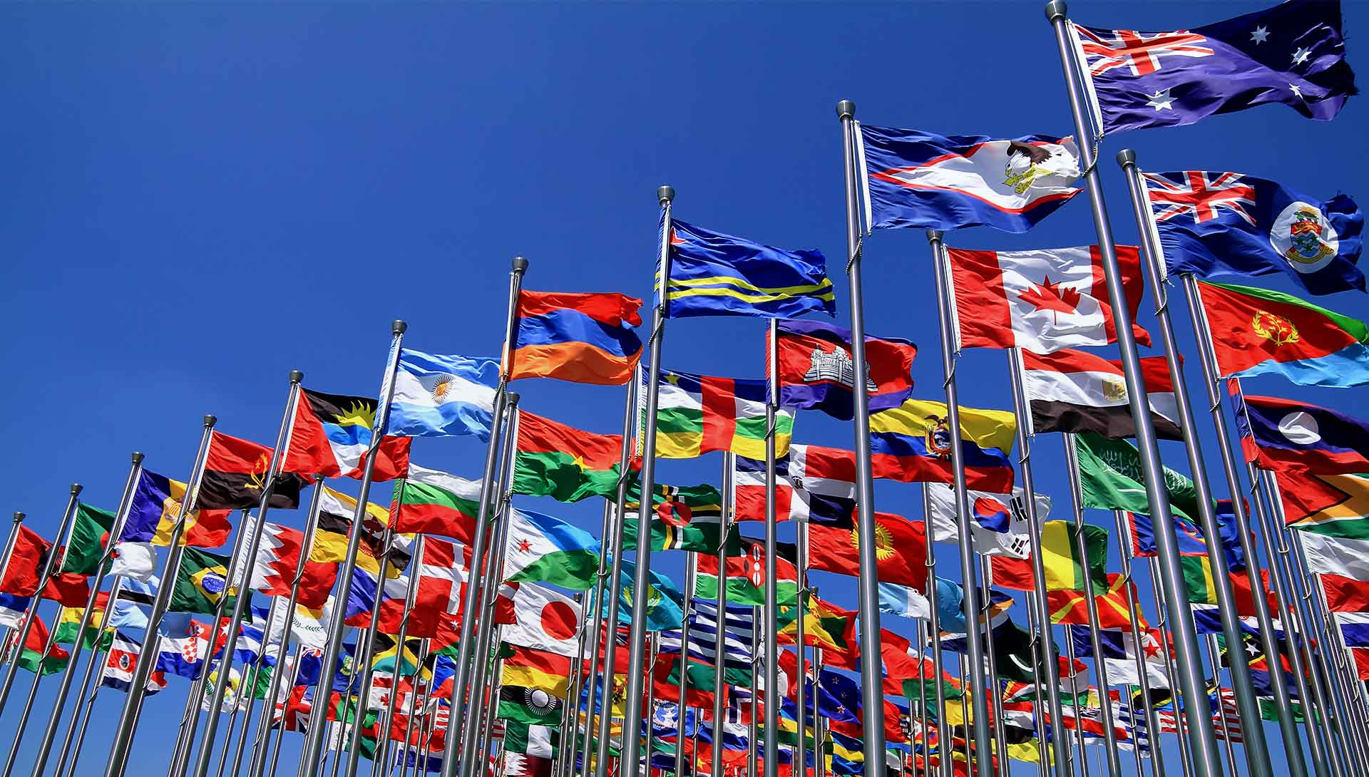 British commonwealth world national flags all shutterstock 91351232