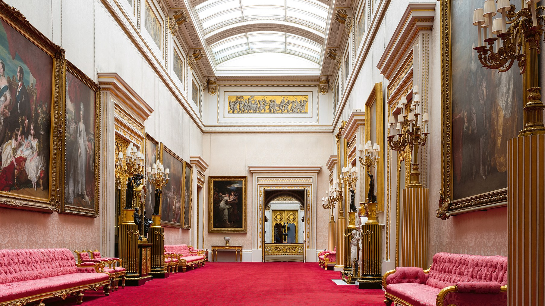 Buckingham palace rooms pictures