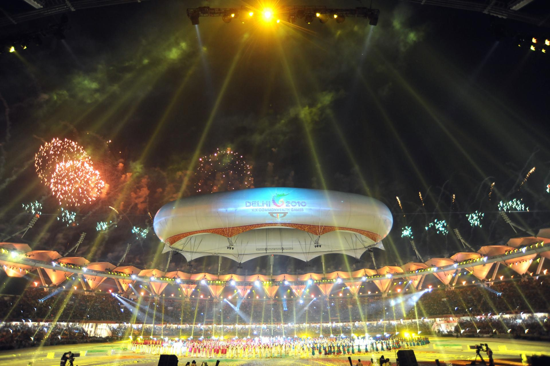 Commonwealth games closing ceremony picture