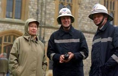 Disasters accidents windsor castle fire 12165244