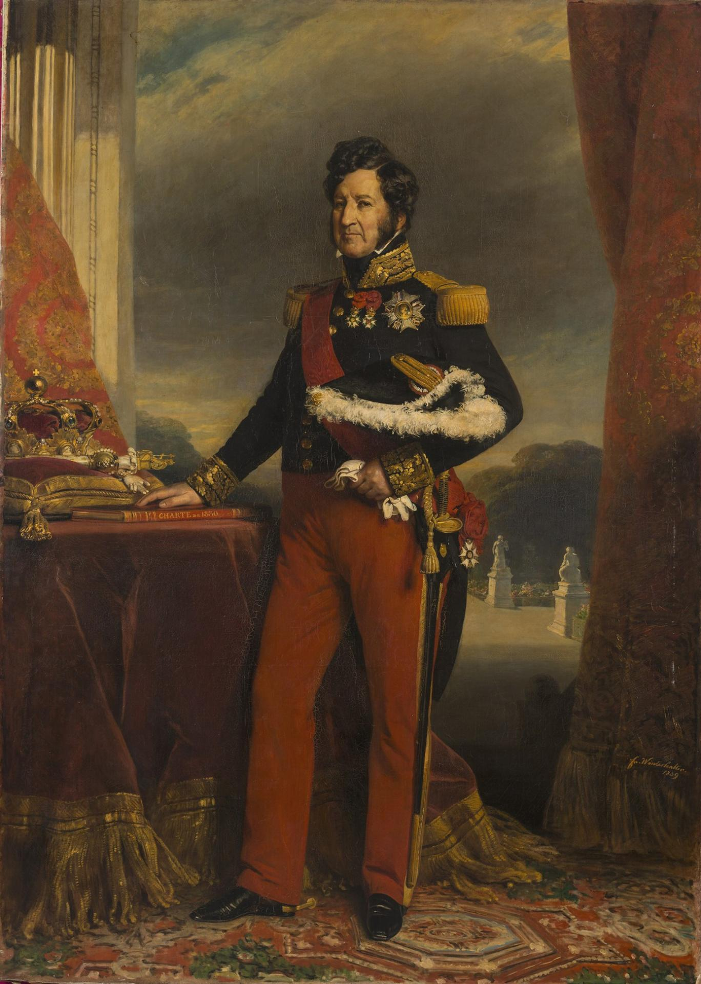 Franz xaver winterhalter king louis philippe