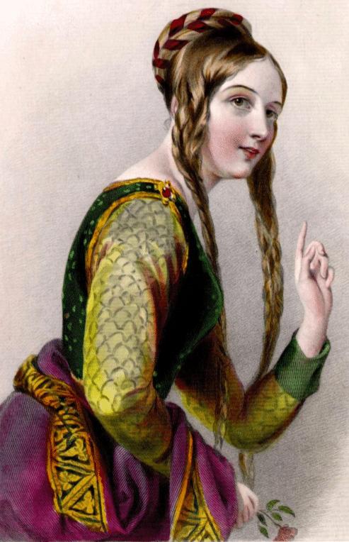 Illustration representant alienor daquitaine