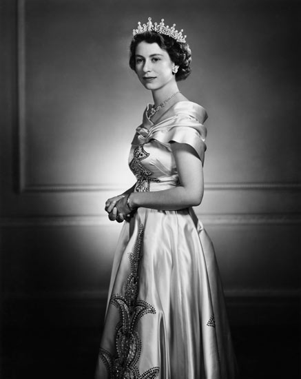 Karsh queen elizabeth 1951