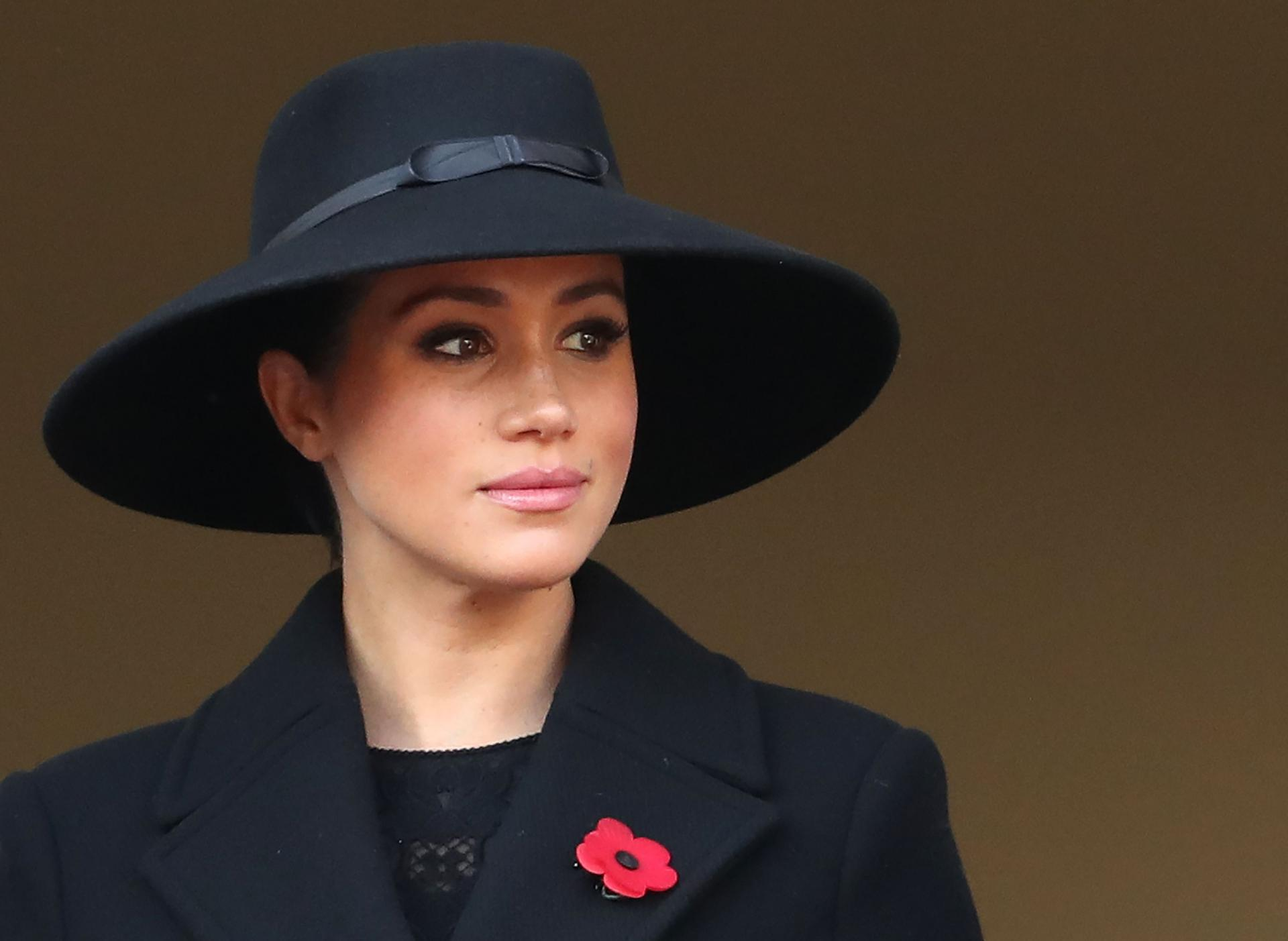 Meghan duchess of sussex attends the annual remembrance news photo 1573386762
