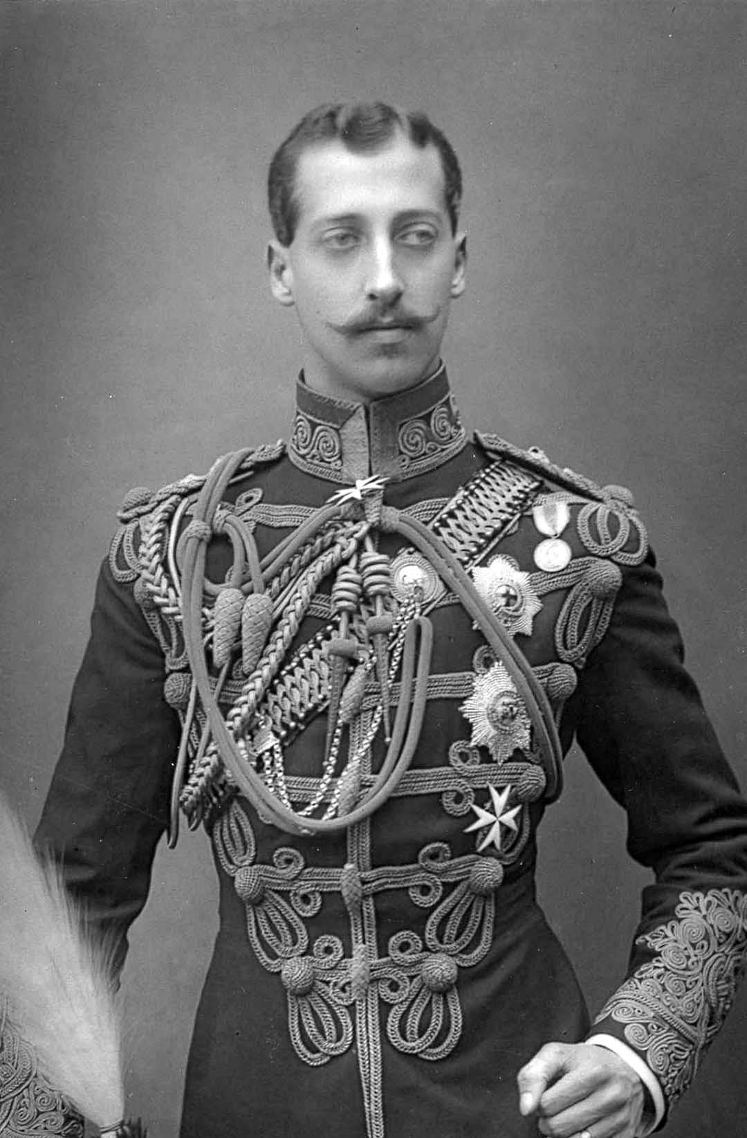 Prince albert victor duke of clarence 1864 1892