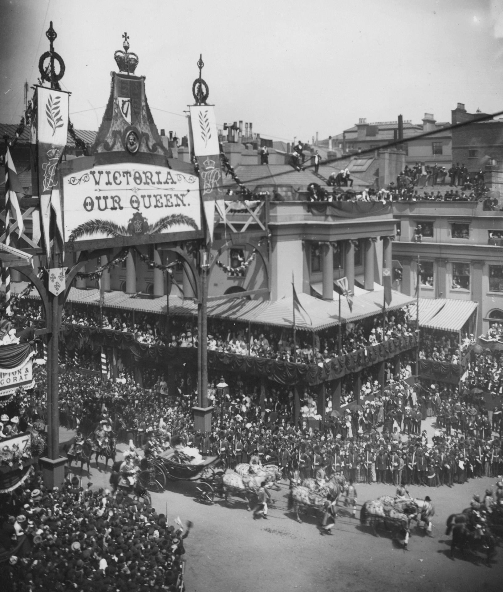 Queen victoria s golden jubilee procession