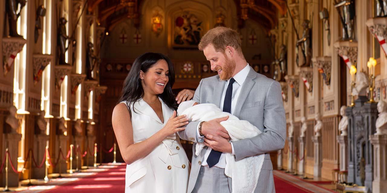 Royal baby le prince harry et meghan ont appele leur fils archie
