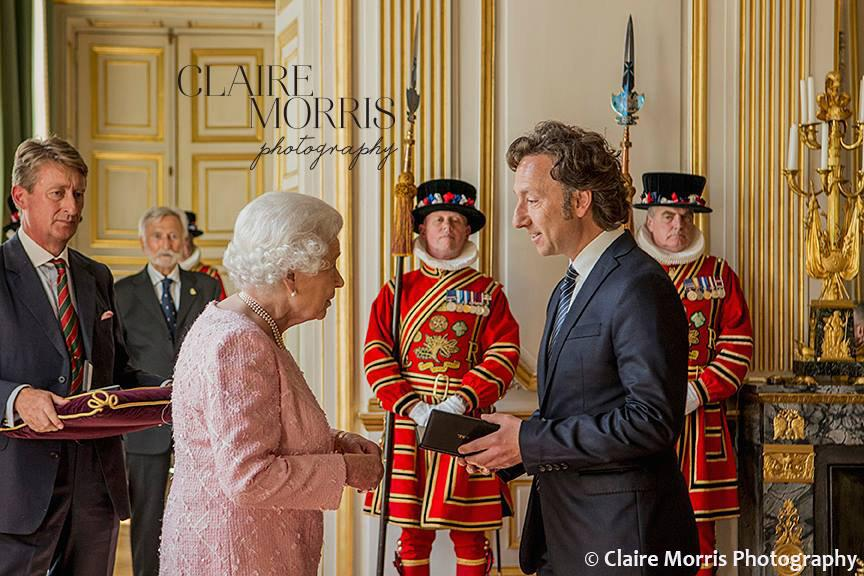Stephane bern elizabeth ii investiture 2