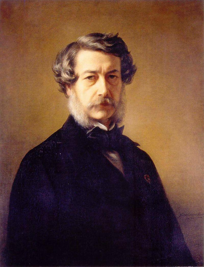 Winterhalter auto portrait 1868