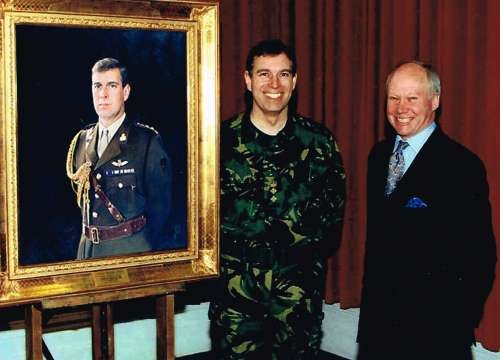 Le duc d'York dévoile son portrait