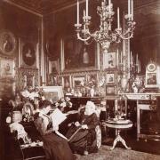 La reine Victoria et la princesse Béatrice