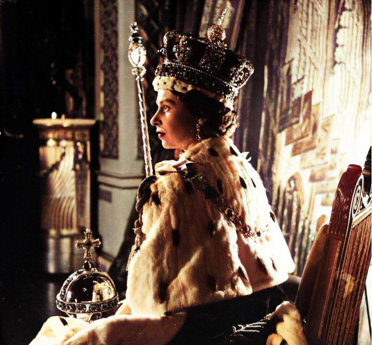 Elizabeth II couronnement - 1953