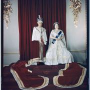Couronnement de George VI et Elizabeth Bowes Lyon