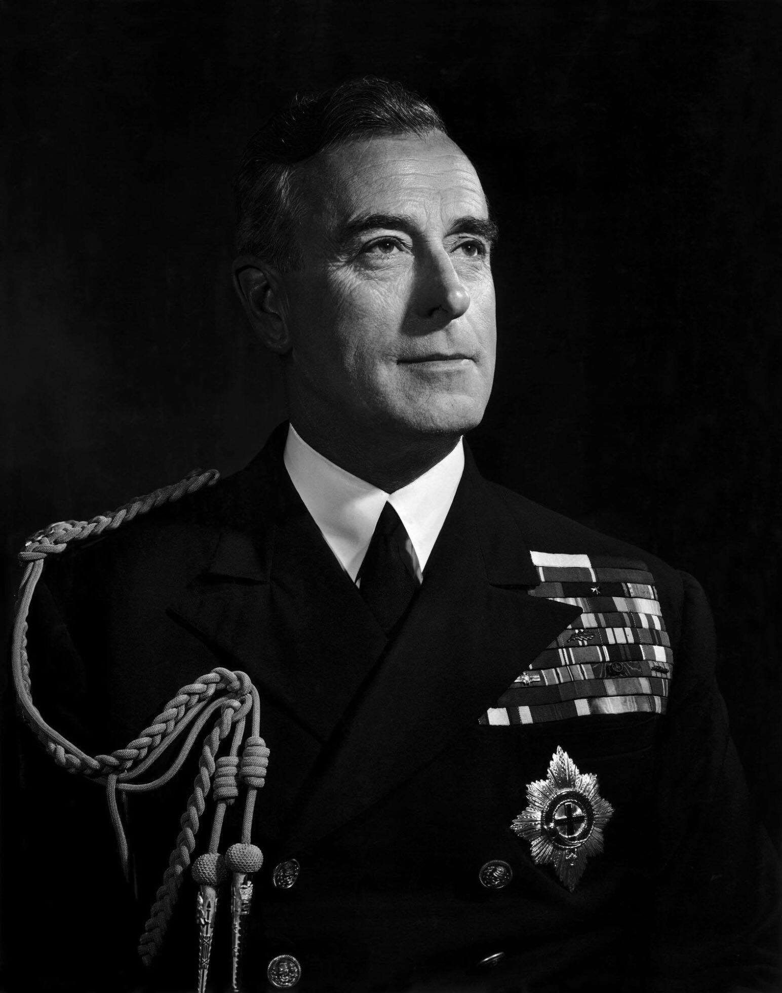 Lord Louis Mountbatten - 1943