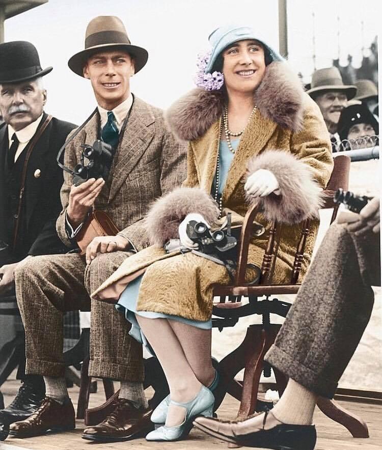 George VI et Elizabeth Bowes Lyon