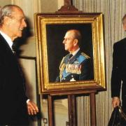 Le duc d'Edimbourg dévoile son portrait