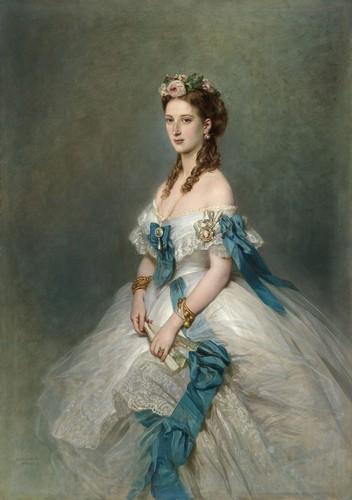Princesse Alexandra de Galles - 1864