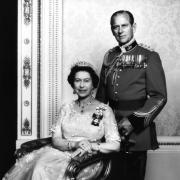 Elizabeth II, prince Philip - 1982