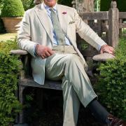 Le prince Charles en son jardin