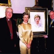 Richard Stone, la duchesse de Gloucester, l'archevêque de Canterbury
