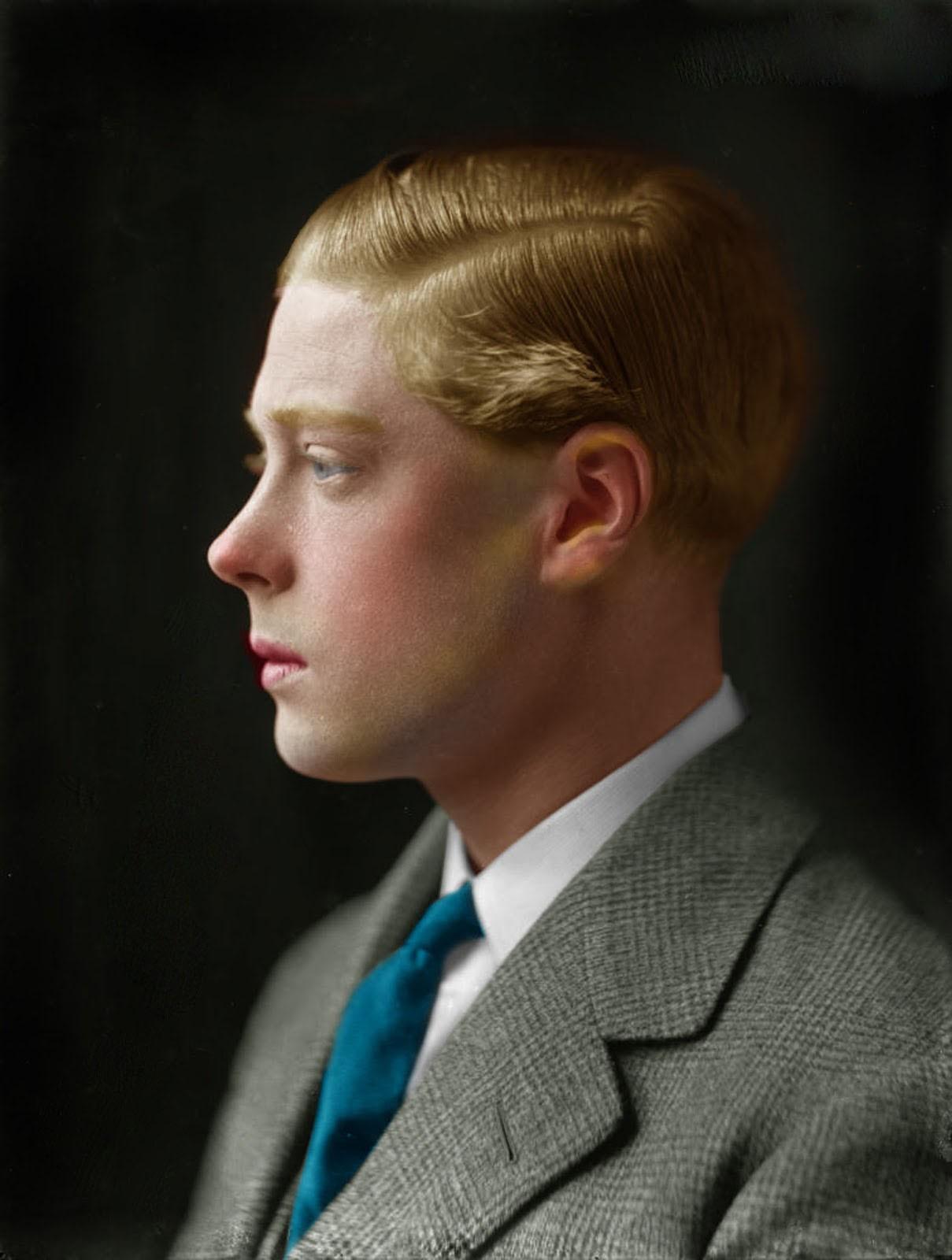 Edward VIII comme prince de Galles