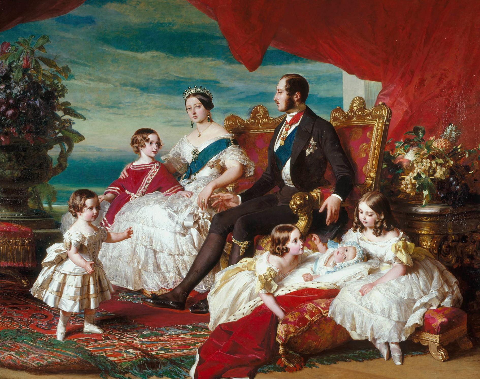 Famille royale - 1846