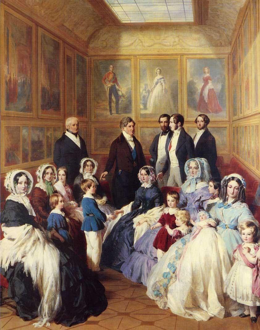 Familles royales britannique et française