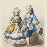 Princesse Victoria et princesse Alice 1850