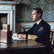 George VI lors de son discours de déclaration de guerre en 1939