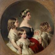 Reine Victoria et ses premiers enfants - 1845