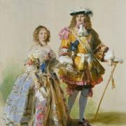 Reine Victoria et prince Albert - 1851