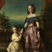 Reine Victoria et prince Edward - 1846