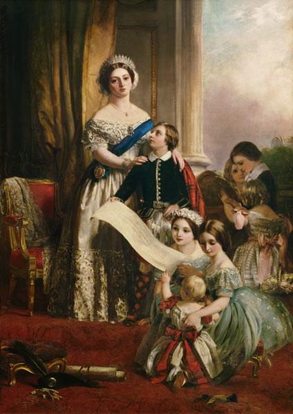 Reine Victoria et ses enfants