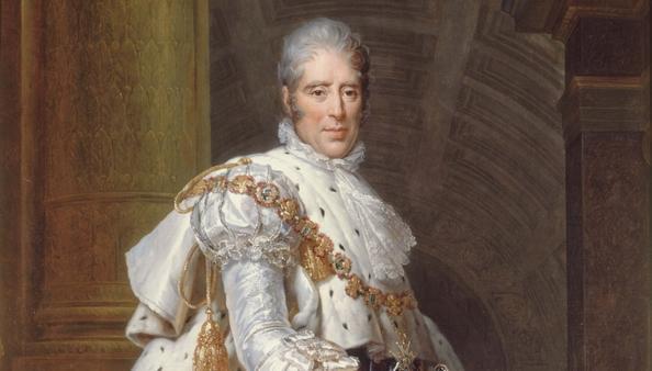 6 1 baron francois gerard charles x en costume sacre 1825 chateau de versailles