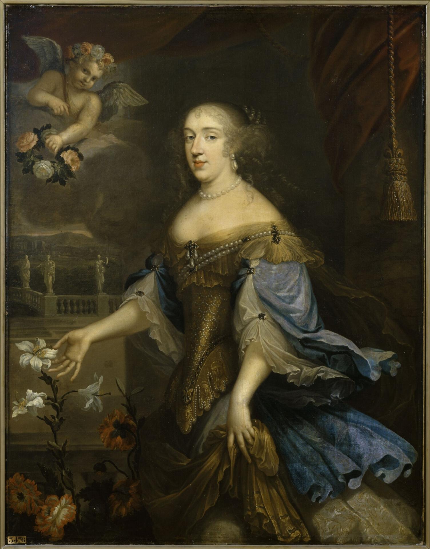 Anne marie louise d orleans duchess of montpensier la grande mademoiselle versailles mv 3476