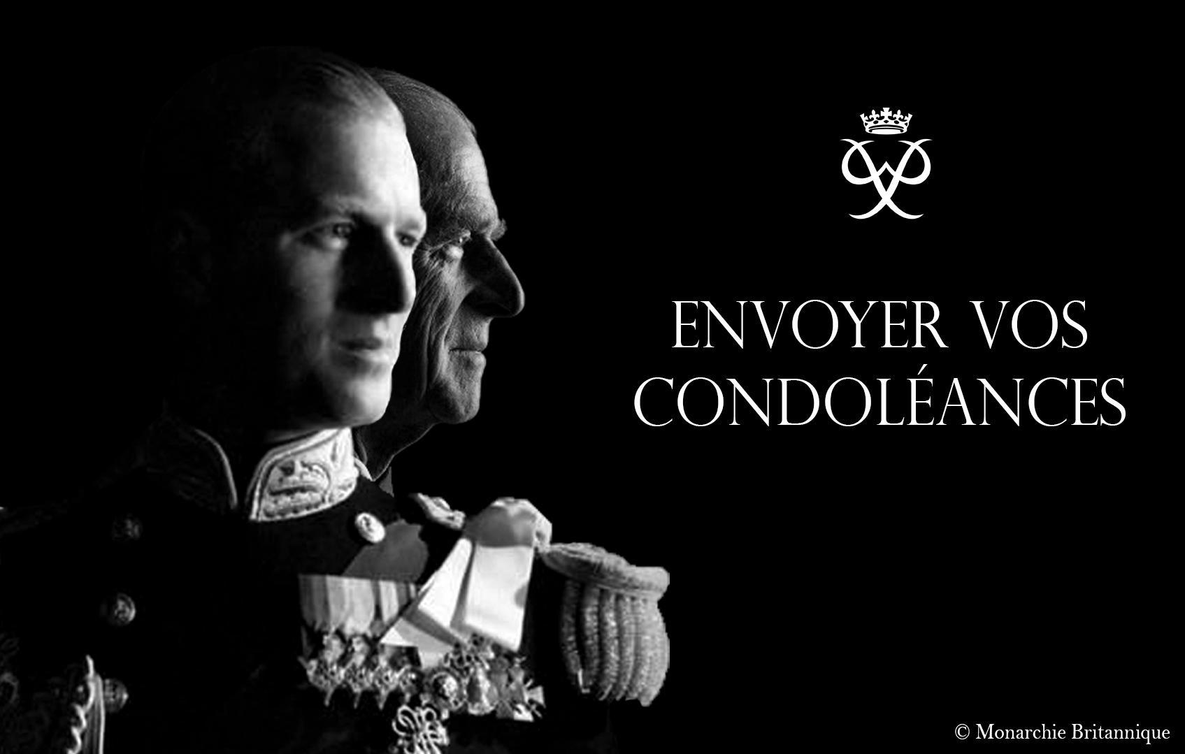 Condoleances duc d'edimbourg